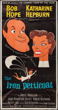 """Movie Posters:Comedy, The Iron Petticoat (MGM, 1956). Three Sheet (41"""" X 78""""). Comedy.. ..."""