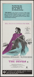"Movie Posters:Drama, The Devils (Warner Brothers, 1971). Australian Daybill (13.5"" X30""). Drama.. ..."