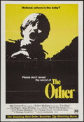 "Movie Posters:Horror, The Other (20th Century Fox, 1972). Australian One Sheet (27"" X 40"") & Australian Daybill (13"" X 30""). Horror.. ... (Total: 2 Items)"