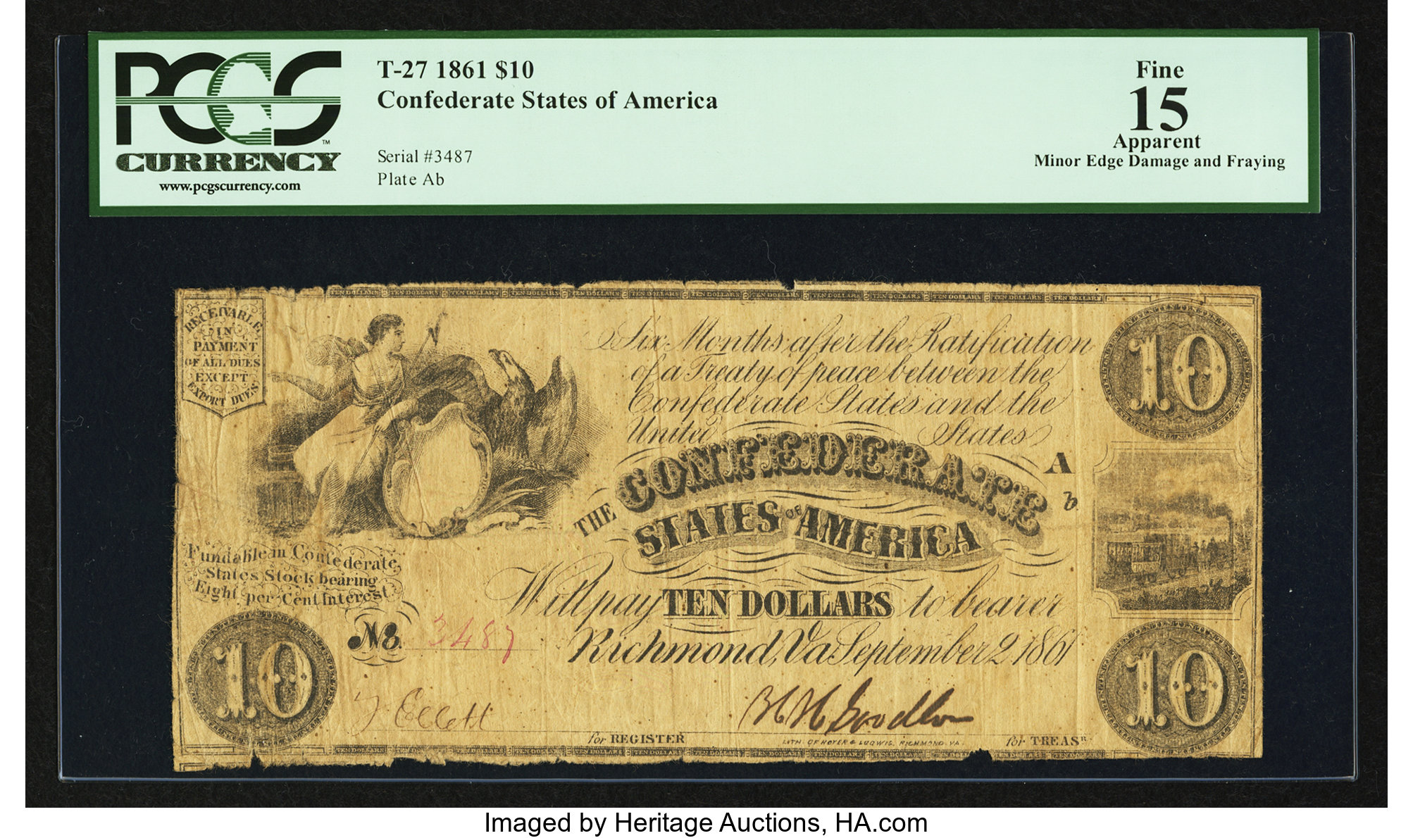 Varieties by Fricke Collecting Confederate Paper Money Guide To Note Types