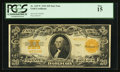 Large Size:Gold Certificates, Fr. 1187* $20 1922 Gold Certificate PCGS Fine 15.. ...