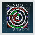Music Memorabilia:Autographs and Signed Items, Ringo Starr Signed Print on Canvas (Gerald Hartinger Fine Arts,2011)....