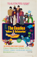 Music Memorabilia:Posters, Beatles Yellow Submarine Theatrical Poster (UnitedArtists/King Features, 1968)....