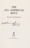 Autographs:Celebrities, Walter Cunningham Signed Book: The All-American Boys....