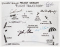 Autographs:Celebrities, Mercury Seven Astronauts: Photo Signed by All. ...