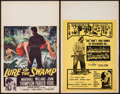 "Movie Posters:Exploitation, Moonshine Mountain & Other Lot (Creative Communications, 1964). Window Cards (2) (14"" X 22""). Exploitation.. ... (Total: 2 Items)"