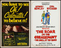 """Movie Posters:Miscellaneous, Oh, Calcutta! & Others (Eden Theatre, 1969). Stage Theatre Window Cards (10) (14"""" X 22""""). Miscellaneous.. ... (Total: 10 Items)"""