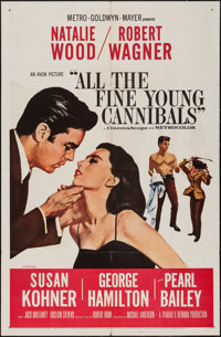 "All the Fine Young Cannibals (MGM, 1960). One Sheet (27"" X 41""). Romance"