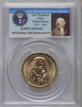 Presidential Dollars, 2007-P $1 John Adams, Doubled Edge Letters, Overlapped MS65 PCGS. PCGS Population (757/24). ...