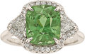 Estate Jewelry:Rings, Alexandrite, Diamond, White Gold Ring. ...