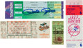 Baseball Collectibles:Tickets, 1939-95 Significant Baseball Full Tickets Lot of 4. ...