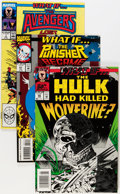 Modern Age (1980-Present):Superhero, What If? (Second Series) #1-70 Near Complete Run Short Boxes Group(Marvel, 1989-95) Condition: Average NM.... (Total: 5 Items)