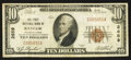 National Bank Notes:Pennsylvania, Bangor, PA - $10 1929 Ty. 1 The First NB Ch. # 2659. ...