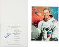 Autographs:Celebrities, Apollo 8: Two Signed Items. ... (Total: 2 Items)