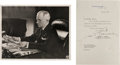 Autographs:Photos, 1946 President Harry S. Truman Signed Photograph....