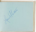 Football Collectibles:Others, Early 1970's Dallas Cowboys Signed Autograph Album....
