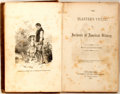 Books:Americana & American History, [Southern Reply to Uncle Tom's Cabin]. [Author Unknown, butDescribed as Native of a Slave State].The Planter's Vict...