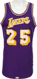 Basketball Collectibles:Uniforms, 1968-72 Gail Goodrich Game Worn Los Angeles Lakers Jersey, MEARSA10 ....