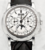 Featured item image of Patek Philippe Ref. 5970G-001 Very Fine And Rare 18k White Gold Chronograph With Perpetual Calendar, Date, Weekday, Month, Moo...