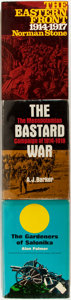 """Books:World History, [WWI] Lot of Three Books on the """"Sideshows"""" in WWI including: Norman Stone. The Eastern Front 1914-1917. New... (Total: 3 Items)"""