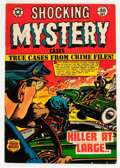 Golden Age (1938-1955):Horror, Shocking Mystery Cases #58 (Star Publications, 1954) Condition:FN+....