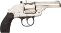 Handguns:Double Action Revolver, Harrington & Richardson Second Model Top Break Revolver Belonging to Al Capone....