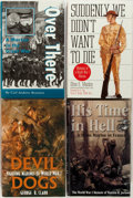 Books:Americana & American History, [U.S. Marines in WWI] Group of Four U.S. Marine Corps in WWI Booksincluding: Carl Andrew Brannen. Over There. A Mar... (Total: 4Items)
