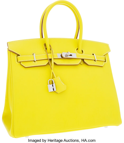8470df1e67ae Hermes Limited Edition Candy Collection 35cm Lime   Gris