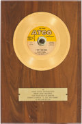 "Music Memorabilia:Awards, Sonny & Cher ""I Got You Babe"" Gold Record Award (Atco 45-6359,1965)...."
