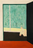 Featured item image of MILTON AVERY (American, 1885-1965)  From the Studio, 1954  Oil on canvas  58 x 42 inches (147.3 x 106.7 cm)  Signed and ...