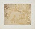 Political:Small Paper (1896-present), Theodore Roosevelt: Mounted Parade Photo....