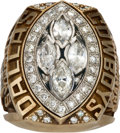 Football Collectibles:Others, 1993 Dallas Cowboys Super Bowl XXVIII Championship Ring Presented to CB Dave Thomas. ...