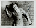 Movie/TV Memorabilia:Autographs and Signed Items, Alexis Smith Signed Original Still from Undercover Girl(Universal-International, 1950). ...