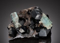 Minerals:Cabinet Specimens, AQUAMARINE. Erongo Mountain, Erongo Region, Namibia. ...(Total: 2 Items)