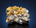 Minerals:Cabinet Specimens, MIMETITE with CALCITE. Potosí Mine, Aquiles Serdan, West Camp,Santa Eulalia District, Mun. de Aquiles Serdán, Chihuahua, ...