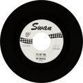 "Music Memorabilia:Recordings, Beatles ""I'll Get You"" One-Sided Promo 45 (Swan 4152 white labelpromo, 1964)...."