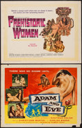 """Movie Posters:Drama, Adam and Eve & Other Lot (William A. Horne, 1958). Half Sheets(2) (22"""" X 28""""). Drama.. ... (Total: 2 Items)"""