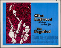 "The Beguiled (Universal, 1971). Half Sheet (22"" X 28""). Thriller"
