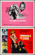 """Movie Posters:Horror, The Brotherhood of Satan & Other Lot (Columbia, 1971). Half Sheets (2) (22"""" X 28""""). Horror.. ... (Total: 2 Items)"""