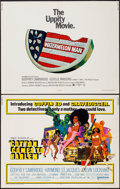 "Movie Posters:Blaxploitation, Cotton Comes to Harlem & Other Lot (United Artists, 1970). HalfSheets (2) (22"" X 28""). Blaxploitation.. ... (Total: 2 Items)"