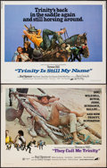 """Movie Posters:Western, They Call Me Trinity & Other Lot (Avco Embassy, 1971). Half Sheets (2) (22"""" X 28""""). Western.. ... (Total: 2 Items)"""