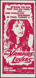 "Movie Posters:Horror, The Vampire Lovers (Roadshow, 1970). Australian Daybill (13.5"" X30""). Horror.. ..."