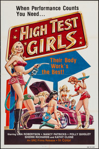 "High Test Girls & Other Lot (SRC Films, 1983). One Sheets (12) (27"" X 41""). Sexploitation. ... (Total:..."