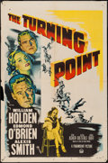 "Movie Posters:Film Noir, The Turning Point (Paramount, 1952). One Sheet (27"" X 41""). FilmNoir.. ..."