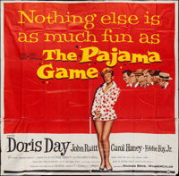 "The Pajama Game (Warner Brothers, 1957). Six Sheet (79"" X 77.75""). Comedy"