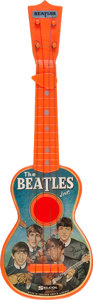 Music Memorabilia:Memorabilia, Beatles Memorabilia The Beatles Jnr. All-Original Guitar with Plectrum (UK Selcol, 1963)....