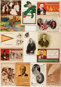 Political:Small Paper (1896-present), Theodore Roosevelt: Fourteen [14] Postcards. ...