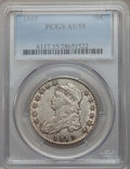 Bust Half Dollars: , 1819 50C AU55 PCGS. PCGS Population (55/103). NGC Census: (47/145).Mintage: 2,208,000. Numismedia Wsl. Price for problem f...