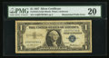 Error Notes:Mismatched Prefix Letters, Fr. 1619 $1 1957 Silver Certificate. PMG Very Fine 20.. ...