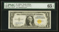 Small Size:World War II Emergency Notes, Fr. 2306* $1 1935A North Africa Silver Certificate. PMG GemUncirculated 65 EPQ.. ...